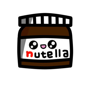 Nutella Kawaii png