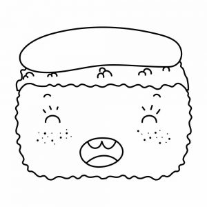 Comida Kawaii Dibujos E Imagenes De Comidas Kawaii Para Colorear