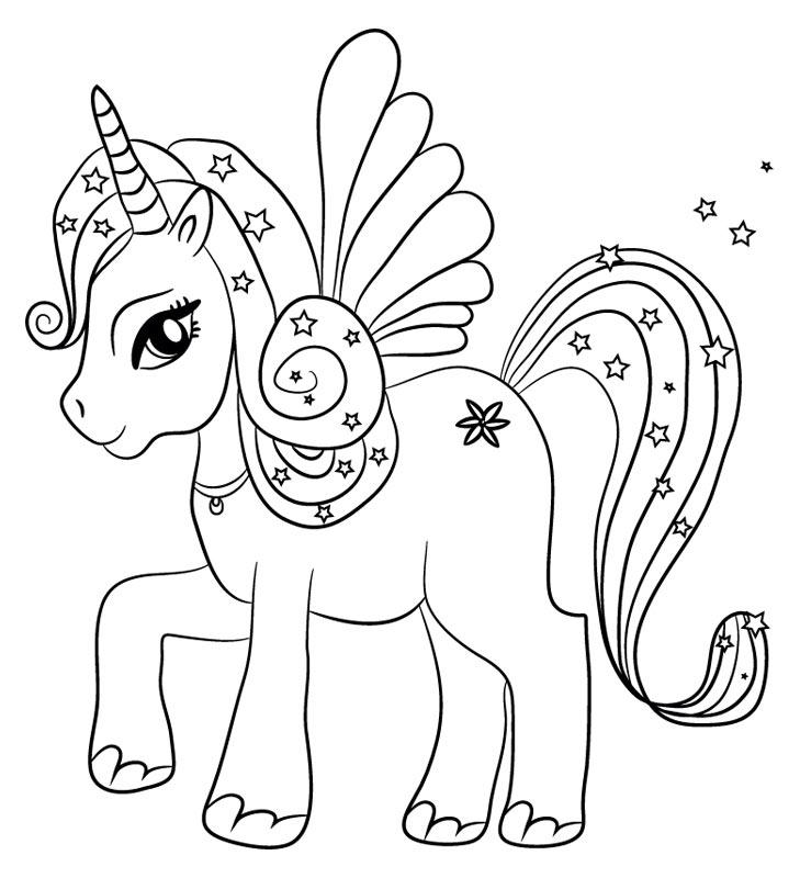Unicornios Kawaii Imagenes Y Dibujos De Unicornio Kawaii Para Colorear