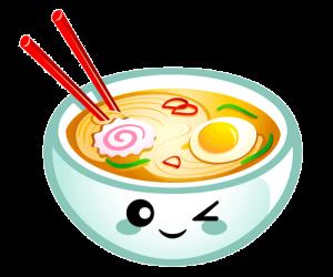 comida japonesa kawaii png