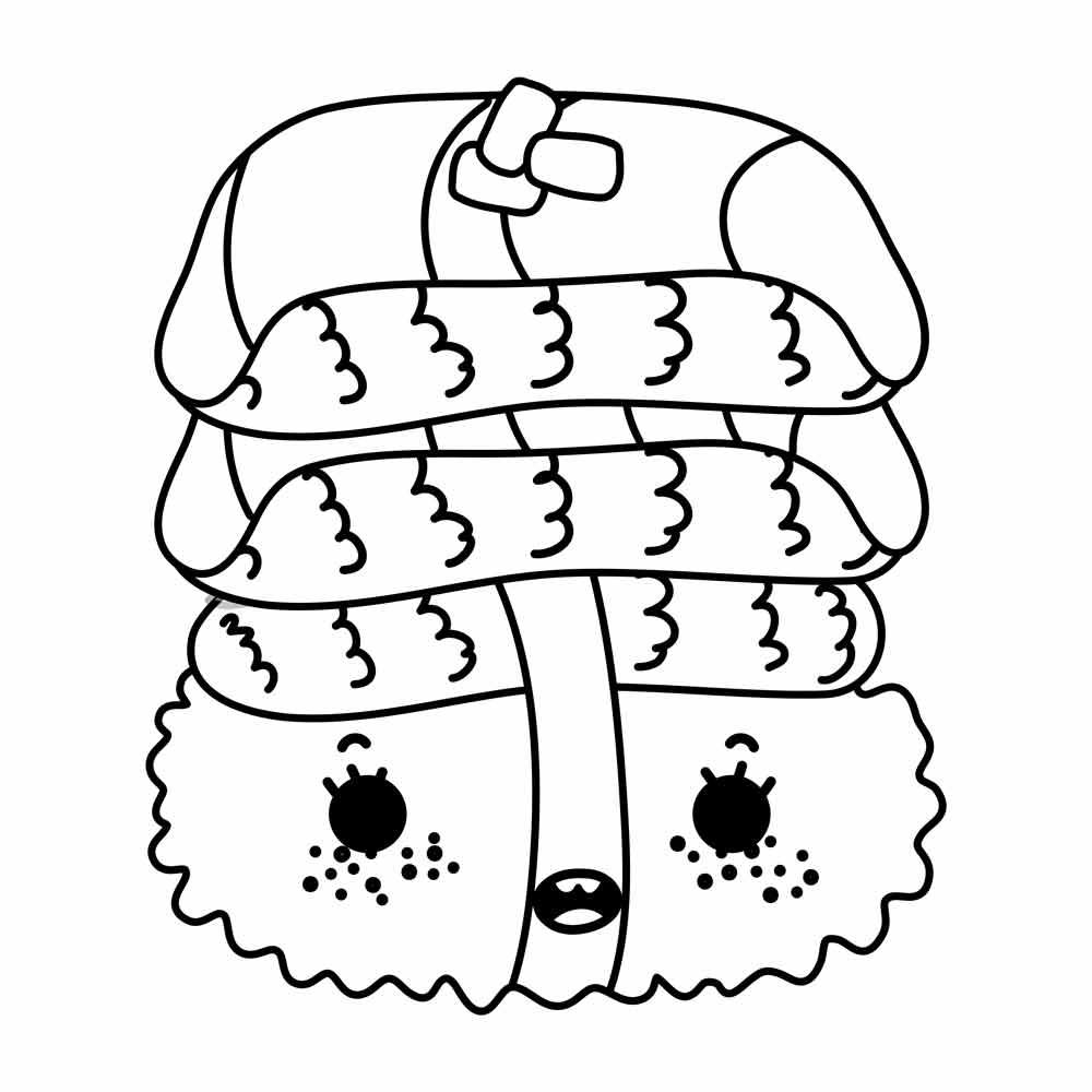 Encantador Linda Comida Kawaii Para Colorear Elaboración - Dibujos ...