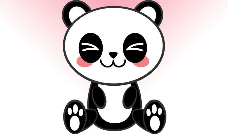 Pandas Kawaii