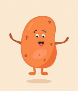 patata asombrada kawaii