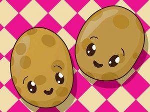 patatas kawaii