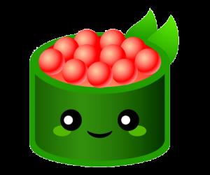sushis kawaii png