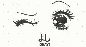dibujos ojos kawaii