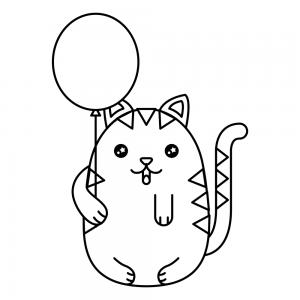 Gatos Kawaii Imagenes De Gatitos Dibujos Para Colorear Y En Png