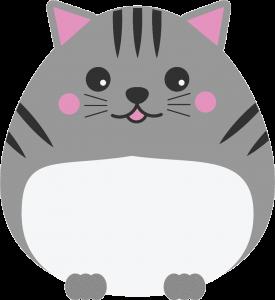 gato kawaii png