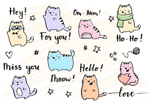 gatos kawaii wallpapers