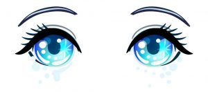 imagenes ojos kawaii