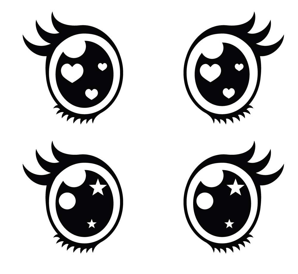ojos anime hombre kawaii: Ojos Kawaii. Imágenes PNG Dibujos Para Colorear