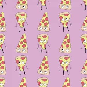 pizzas kawaii